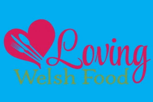 Loving Welsh Food Logo Glas